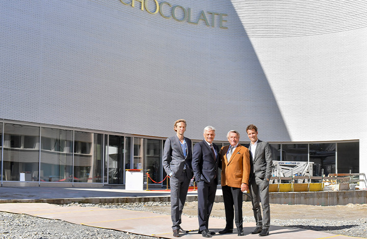 Building handover Lindt Home of Chocolate
