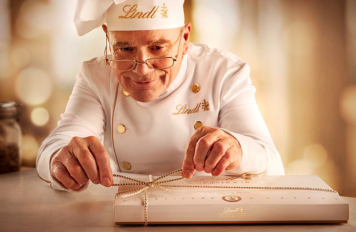 LINDT pralines – s dream in a chocolate box