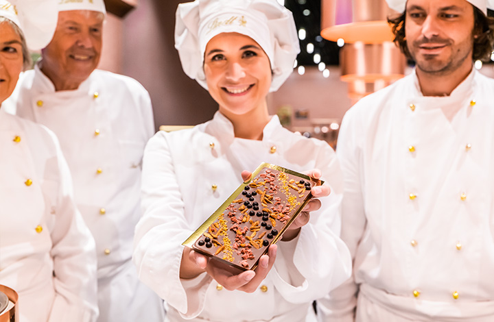 Chocolate cours walk-in