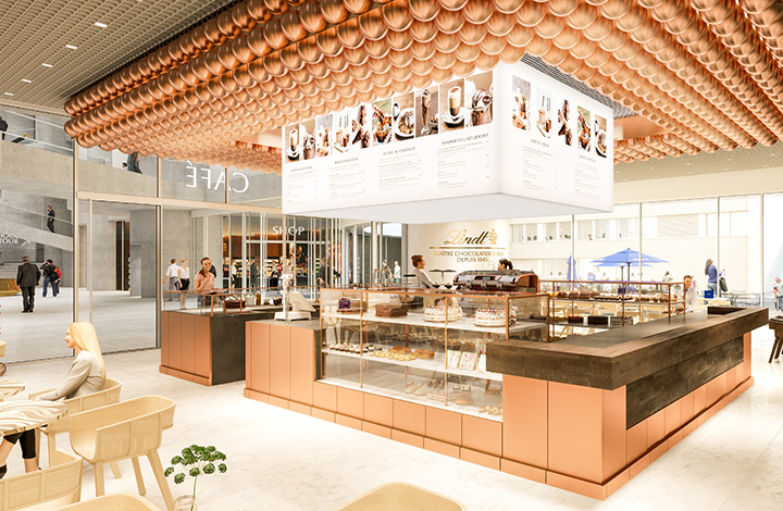 Come and enjoy the Café at the Lindt Home of Chocolate