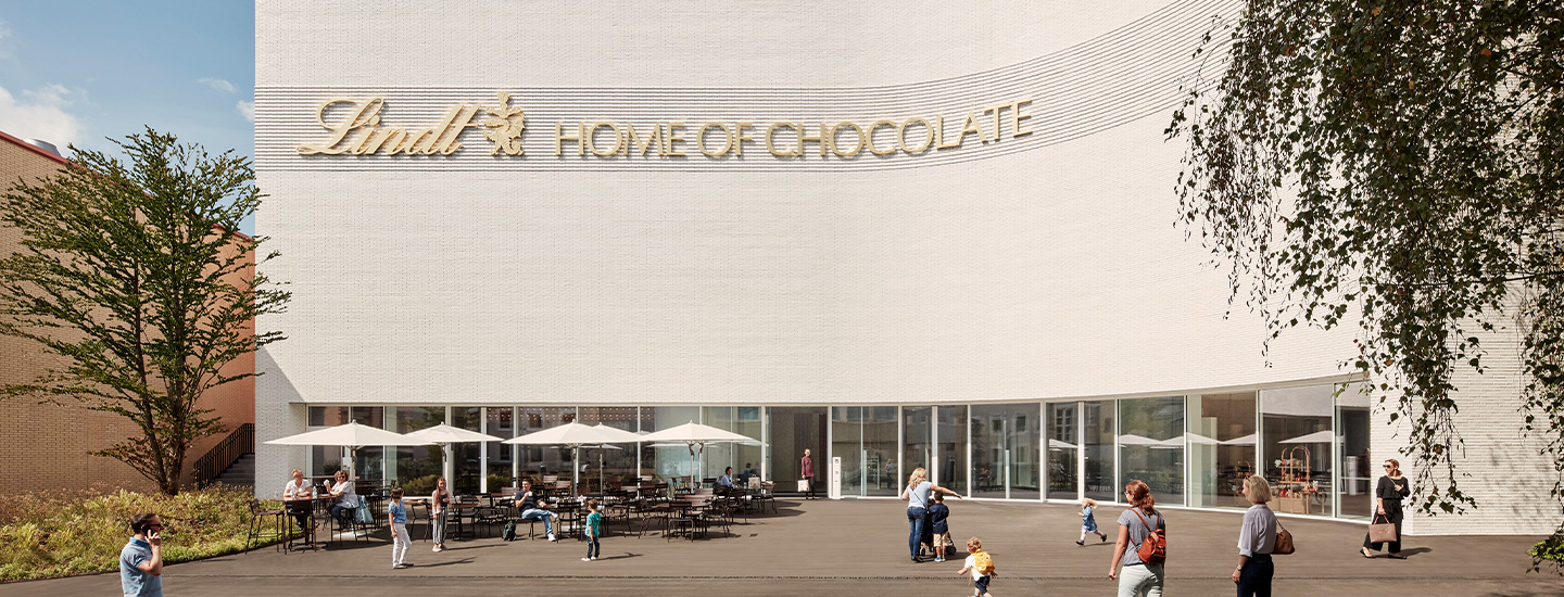 Das Lindt Home of Chocolate in Kilchberg