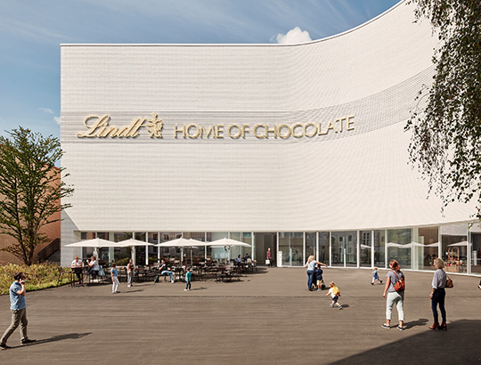 The Lindt Home of Chocolate in Kilchberg