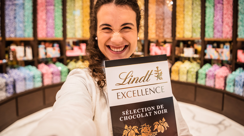Du chocolat qui vous rend heureux