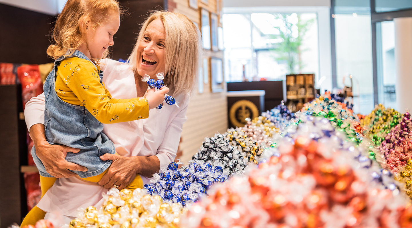 Biggest selection of Lindor chocolate for big and small