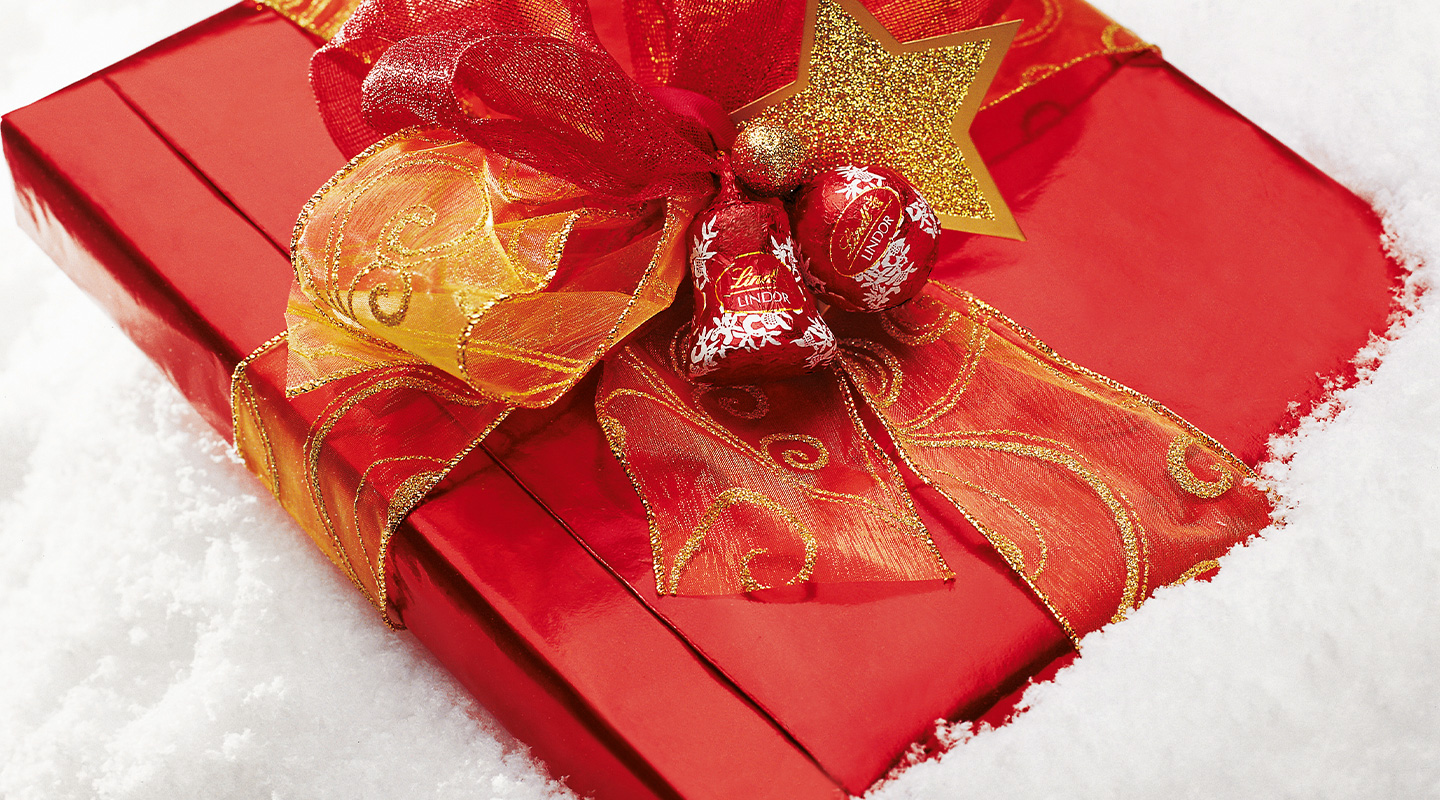 The Lindt Christmas presents